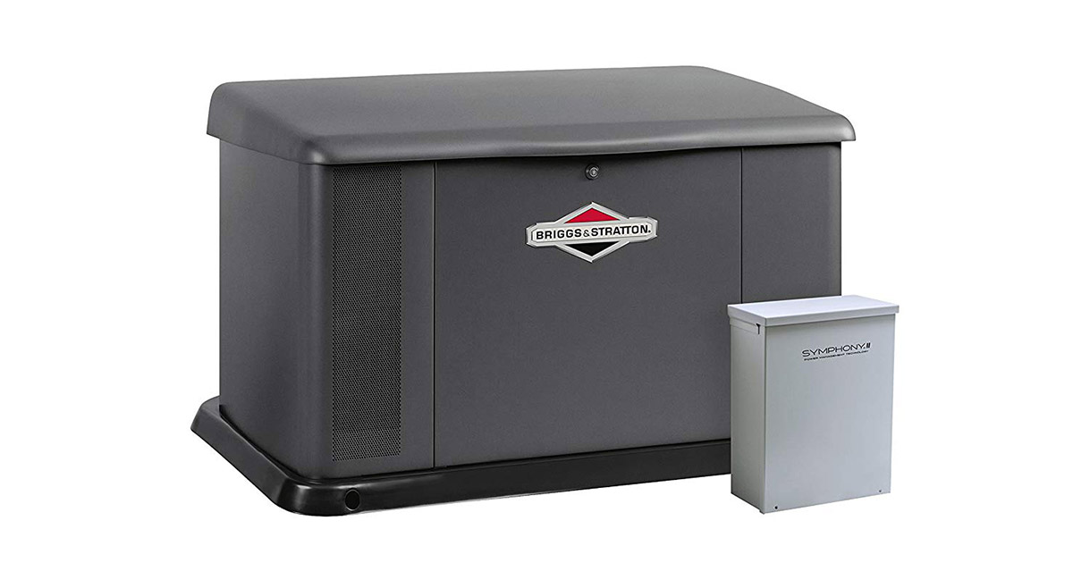 Briggs   Stratton Power Products 40554 17kW Standby Generator image