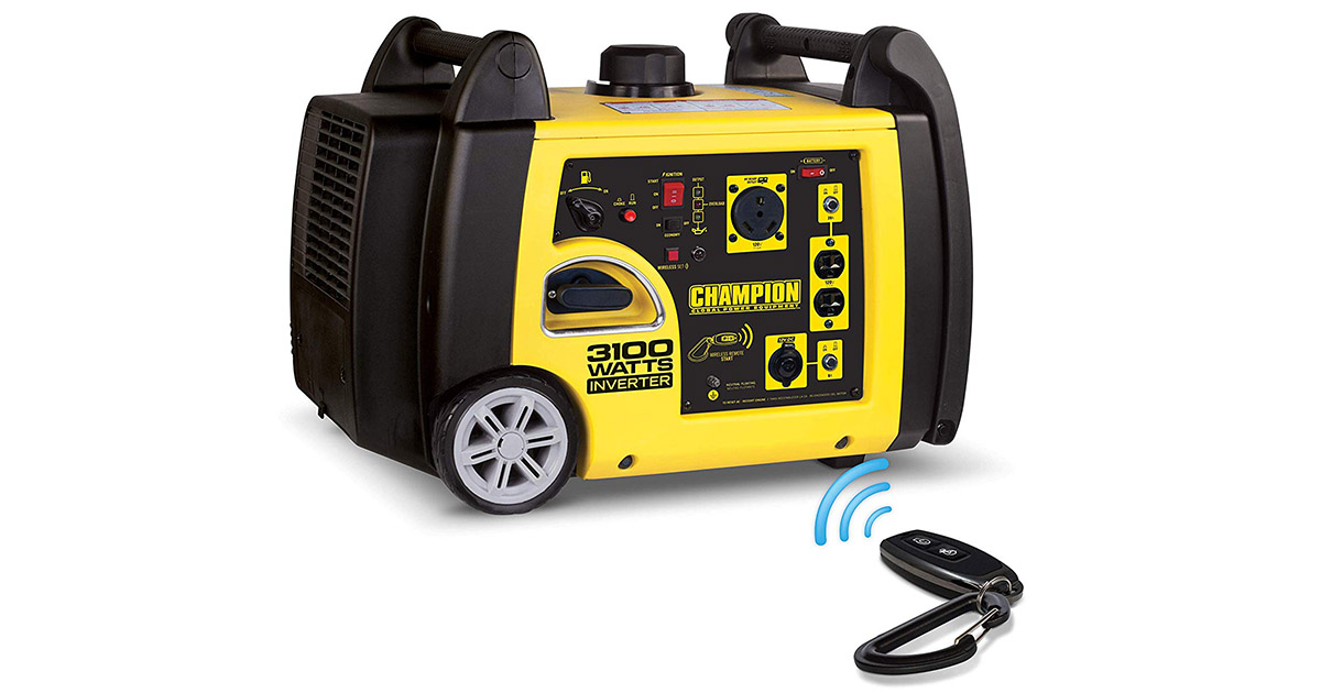 Champion 75537i-3100 Watt RV Ready Portable Inverter Generator image
