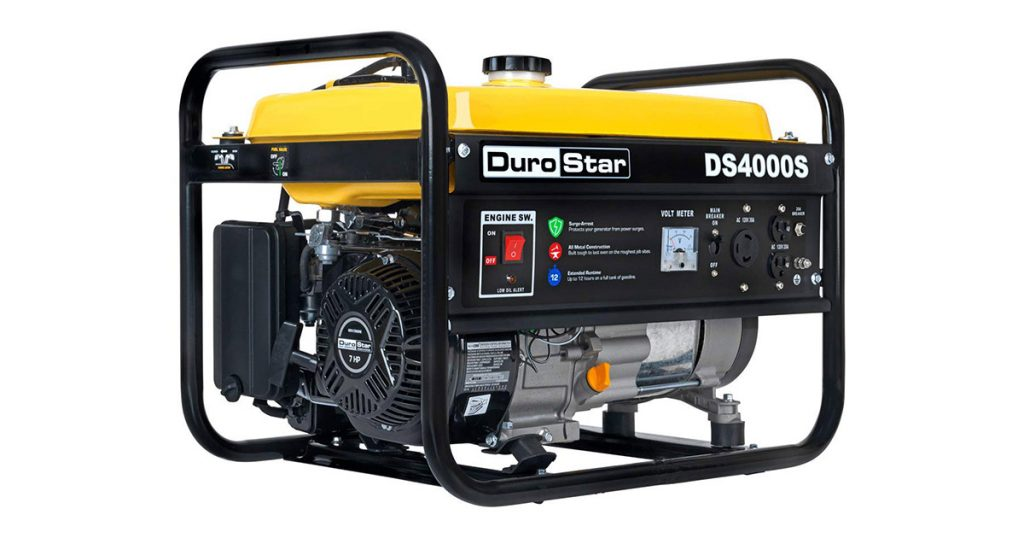 DuroStar DS4000S Gas Powered Portable Generator image