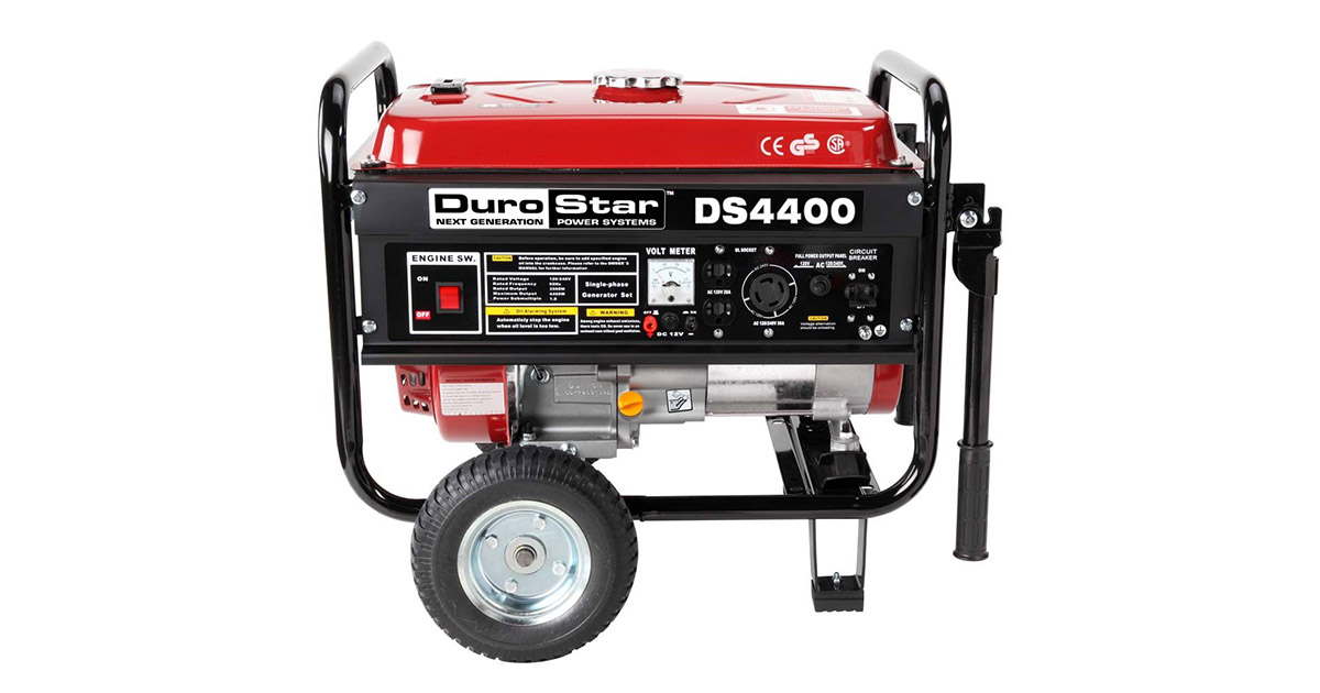 DuroStar DS4400 Gas Powered Portable Generator image