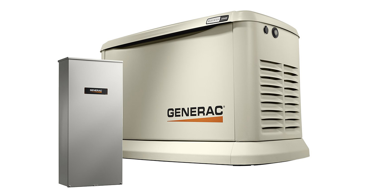 Generac 7043 Home Standby Generator image