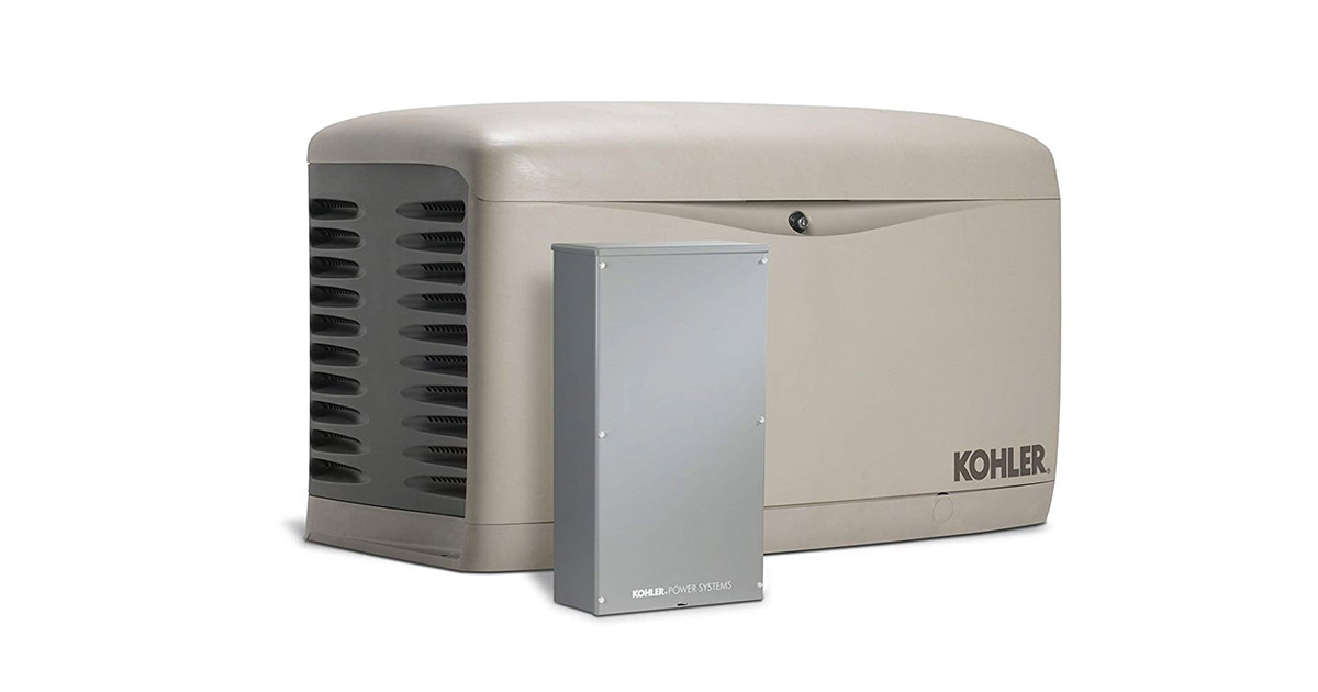 Kohler 20RESCL-200SELS Air Cooled Standby Generator image