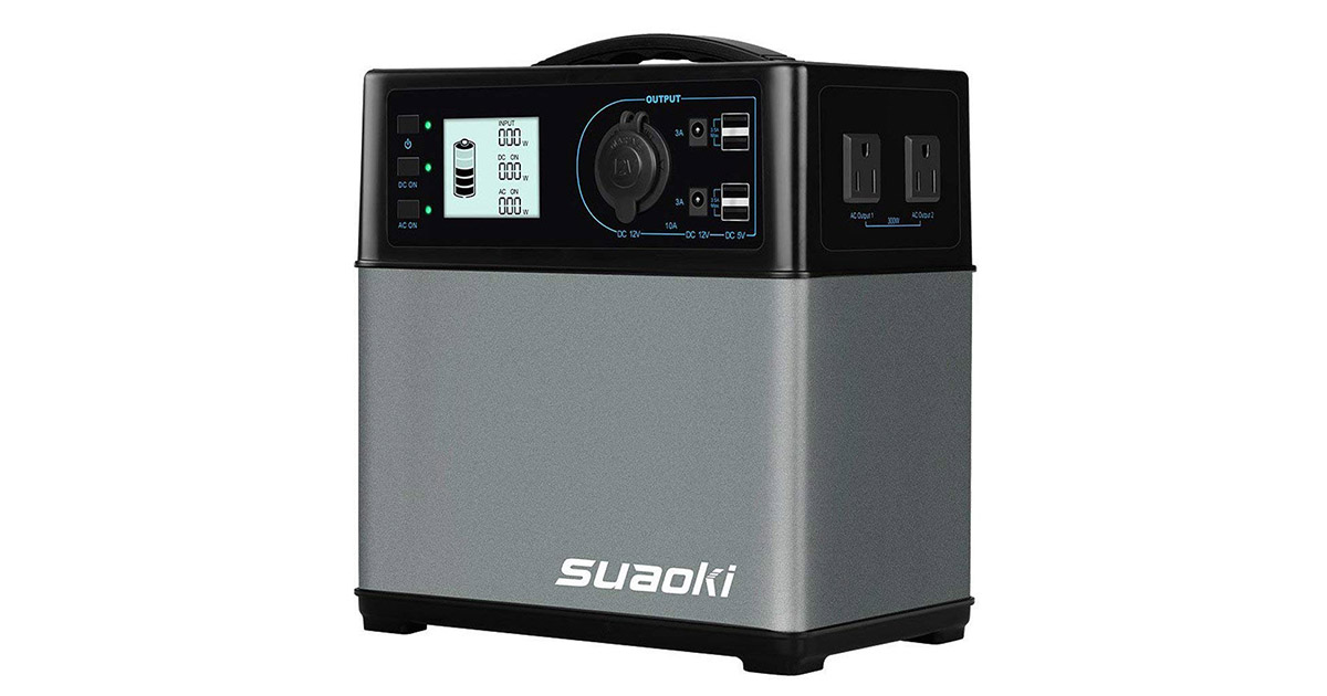 SUAOKI Portable Generator Power Station image