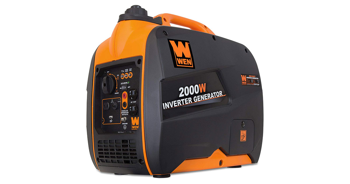 WEN 56200i Super Quiet 2000 Watt Portable Inverter Generator image