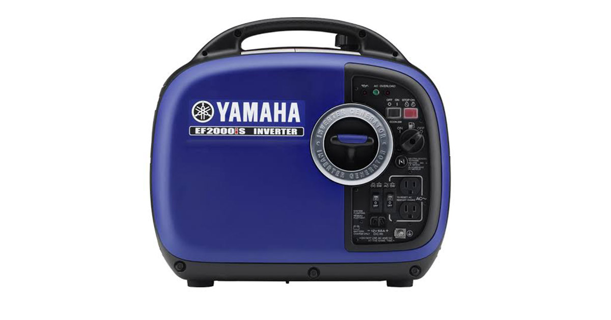 Yamaha EF2000iSv2 1600 Running Watts 2000 Starting Watts Gas Powered Portable Inverter image