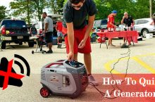 How to Make a Generator Quieter for Camping and Home?