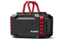 SUAOKI S270 Portable Power Generator – Ideal for Camping or any Outdoor Trips!