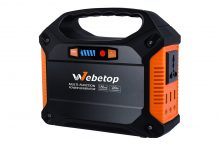 Webetop 155Wh Portable Inverter Generator – Best solution at home/travel in emergencies!