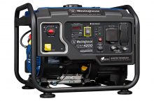 Westinghouse iGen4200 Gas Powered Generator – Well known for its Durability & Quitness!