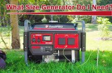 How Big Of A Generator Do I Need?